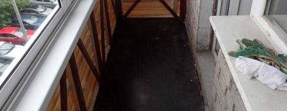 Этапы проекта холодного остекления балкона