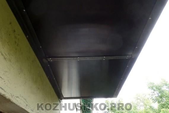 Отреставрированное основание для балкона
